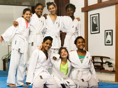 Aikido e as Crianças