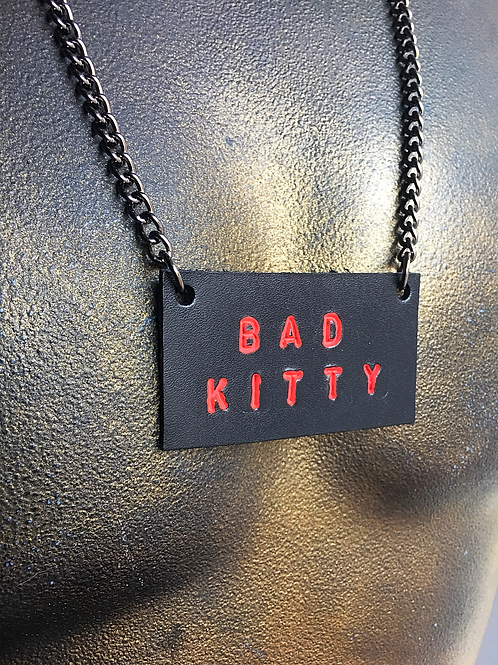 Bad Kitty Necklace