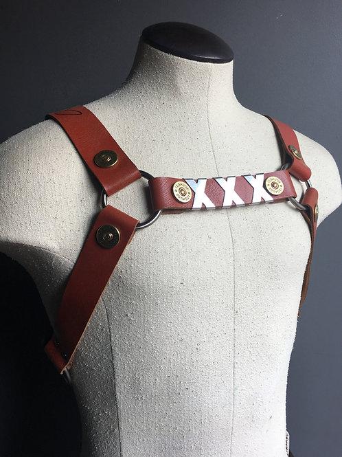 XXX Harness worn by Alex Minsky