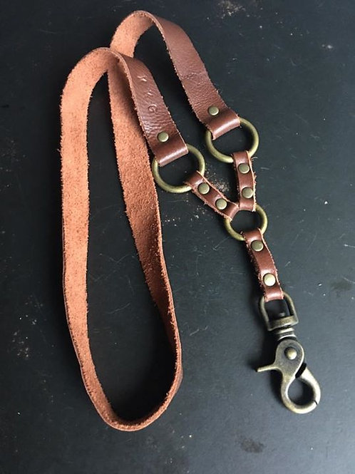 Limited Edition KKG Standard Issue Lanyard Ant. Brass