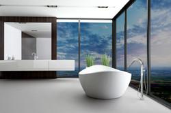 Banyo dolap ve çekmecelerinde HighGl