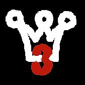 Logo Melachere- bearbeit nur Krone weiss