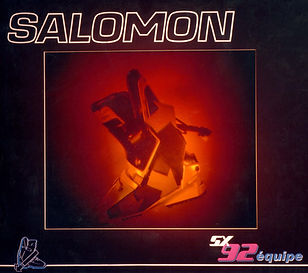 a dual image exhibition hologram for Salomon