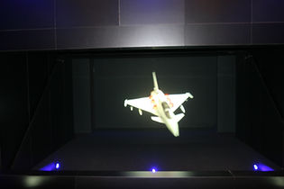 EventPod - Pepper's Ghost - 3D holographic projection