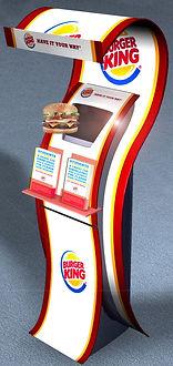 Burger King VisPod instore system