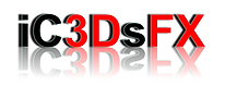 iC3DsFX logo - 3D Holographic Projection Specialists