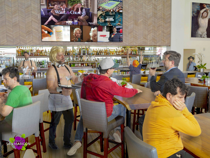 OVER 100 ONSITE DRINKING ESTABLISHMENTS