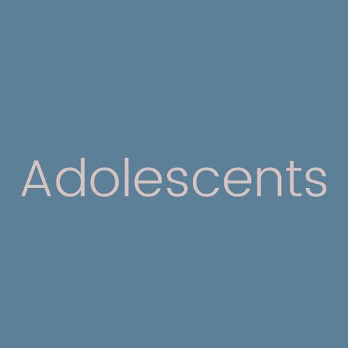 Consultation individuelle adolescents