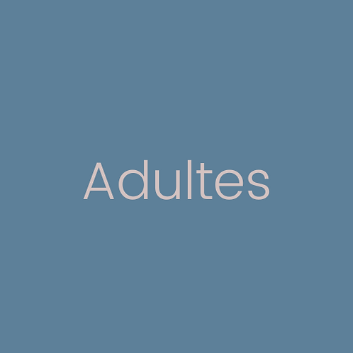 Consultation individuelle Adulte