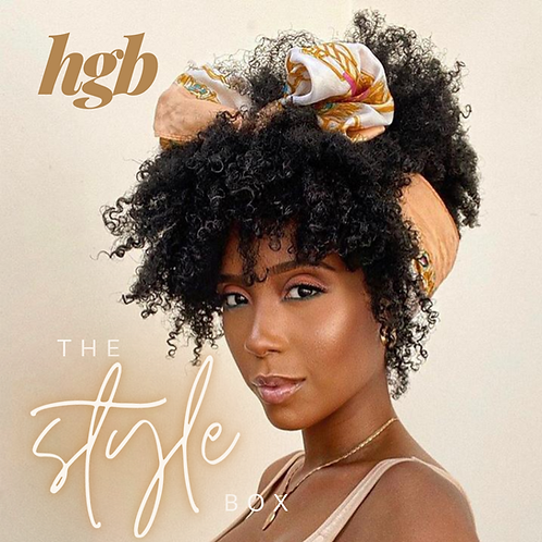 THE STYLE BOX FEATURING CURLS