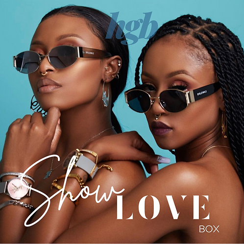"SHOW LOVE BOX FEATURING CANTU ""NEW"" GRAPESEED & FLAXSEED COLLECTION"