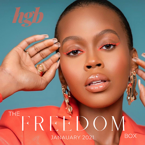 THE JANUARY FREEDOM BOX FEATURING (NEW) AS I AM JBCO