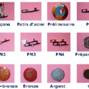 Passage de médailles : Patins nationnaux