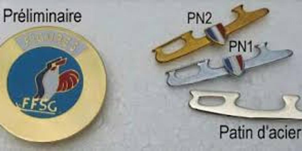 Passage de médailles : Patin d'acier à Patin national 2