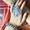 Thumbnail: GUMBAZ KANGANA - Silver Look Alike Brass Adjustable Bangle