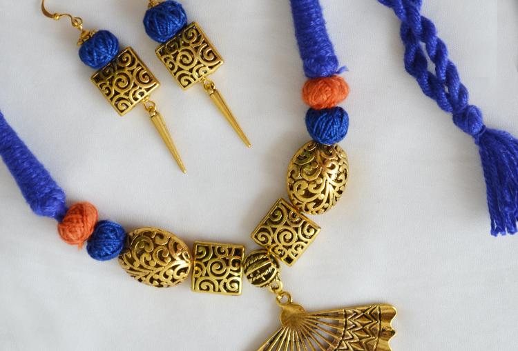 Jabra Fan Necklace Set