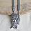 Thumbnail: Bahubali Elephant Oxidized Necklace Set