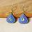 Thumbnail: Meenakari and Kundan Minimal Earrings