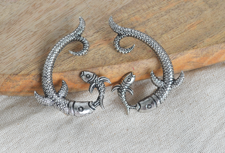 Matsya Fish Earrings
