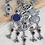 Thumbnail: Oont - Meena Camel Silver Alike Necklace Set
