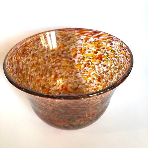 Speckled Autumnal Bowl