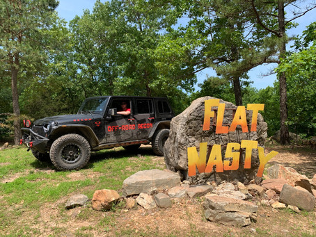 Episode 4: Flat Nasty -- Our Worst Off-Road Experience this Year!