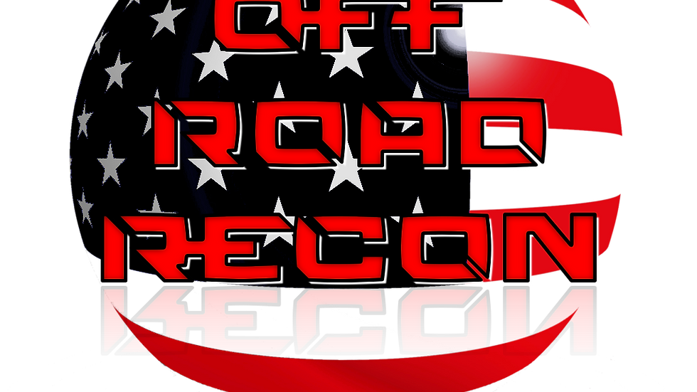 Off-Road Recon Logo Decal 3""