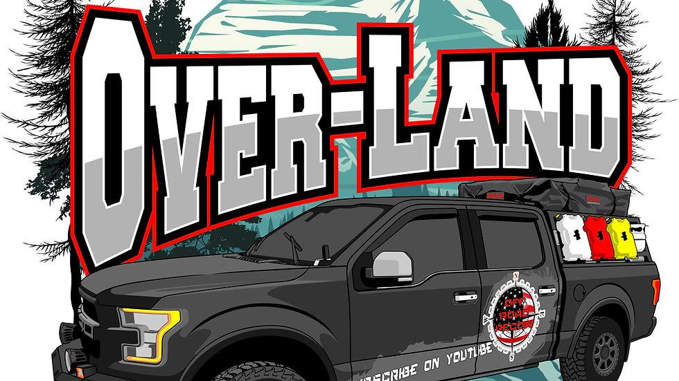 Cartoon Truck art sticker