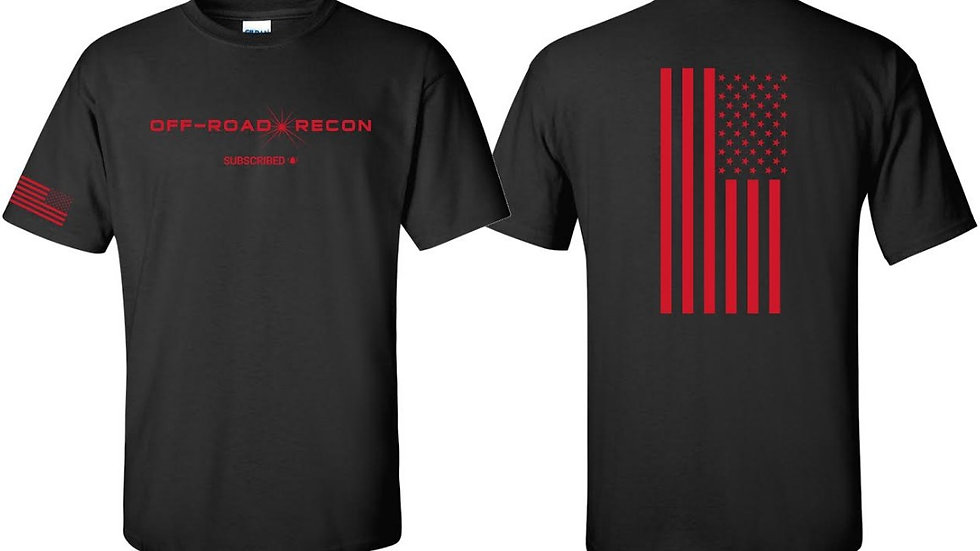 Off-Road Recon T-Shirt (red logo)
