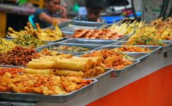 Food Market Gili La Favela Hostel