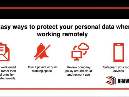 Easy Ways to Protect Personal Data when Working Remotely