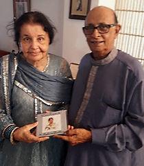 CD launch dedicated to Mrs Zakia Zaher.j
