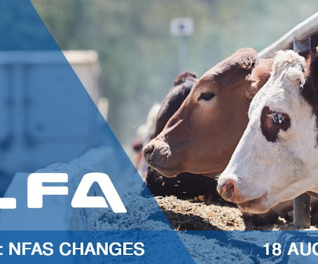 Webinar: NFAS Changes - what are they and what you need to do