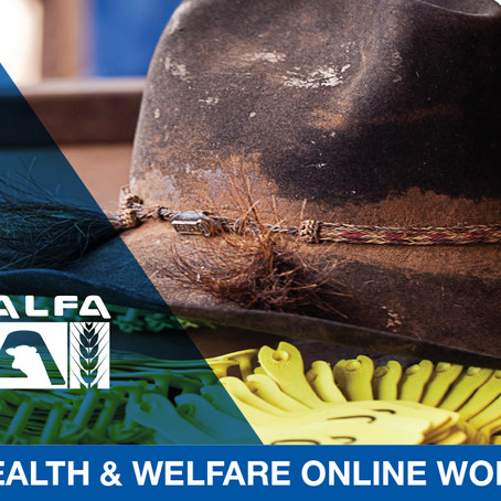 Registrations Open - Animal Health & Welfare Workshop