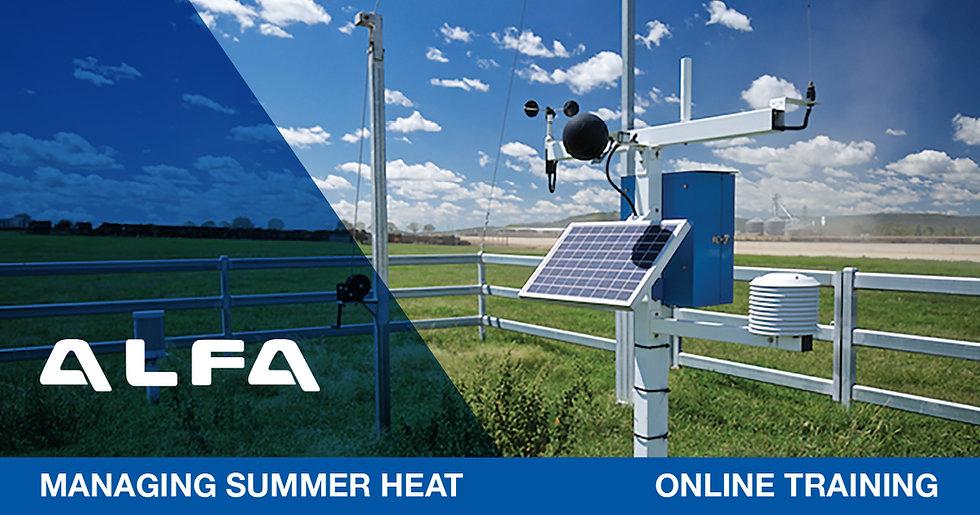 ALFA Managing Summer Heat online training