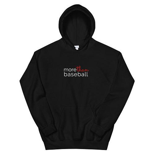 Sudadera con capucha unisex More Than Baseball