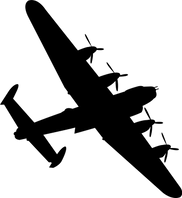 lancaster-bomber-black-silhouettee-vecto