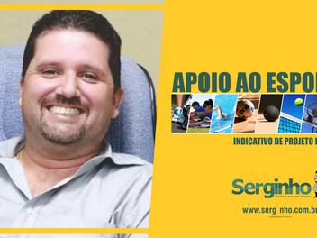 Serginho apresenta projeto para financiamento de eventos e atividades esportivas em Campina
