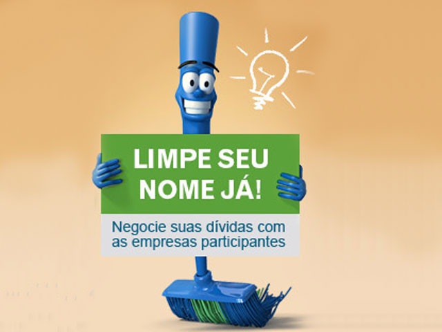 Feirão do Serasa limpa nome com descontos até 95%