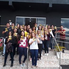 Maio Amarelo: Gomes e Liz promove ação de conscientização no trânsito
