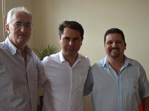 Deputado Alexandre Curi visita Campina Grande do Sul