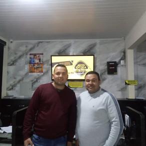 Gomes e Liz firma parceria com Associação dos Servidores de Campina