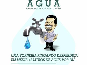Na semana que se comemora o Dia Mundial da Água, Serginho lança Campanha de Conscientização