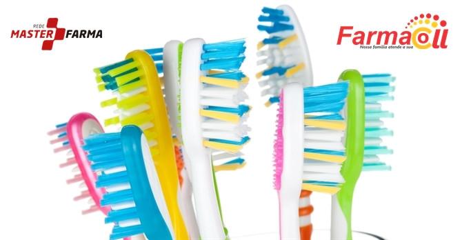 Aprenda a cuidar da suas escovas de dentes