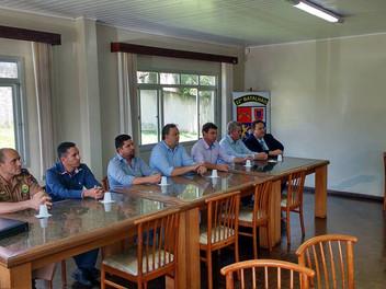 Serginho recebe os novos Policiais Militares que vão atuar em Campina