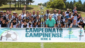 Rosário conquista o Tricampeonato Campinense