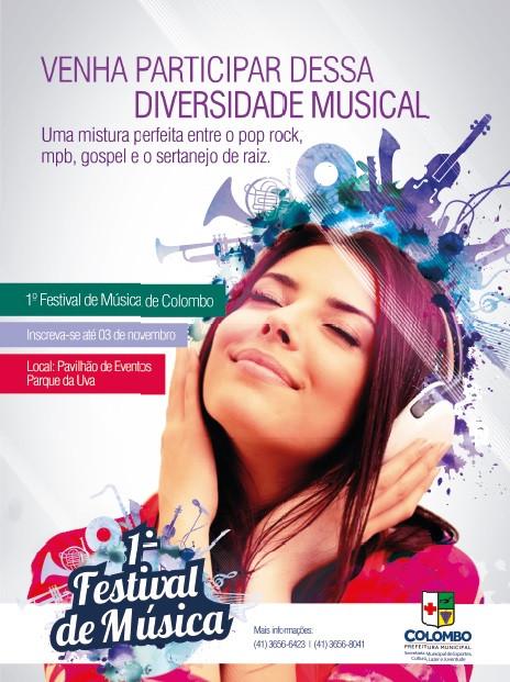 1° Festival de Música de Colombo é transferido para o dia 22 de novembro
