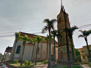 Obras do Contorno Norte ameaçam tradicional Igreja da Colônia Faria em Colombo