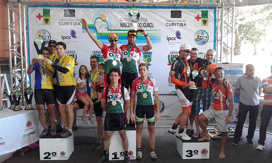 Atletas de Colombo são destaques na Corrida das Nascentes do Iguaçu