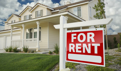 Rent Sign of Property Managers in Fayetteville